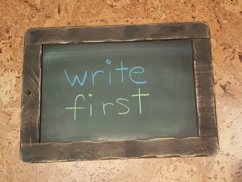 write-first